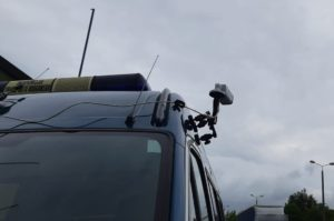 Kamera dostarcza obraz do automatycznej identyfikacji samochodu. Fot. GITD